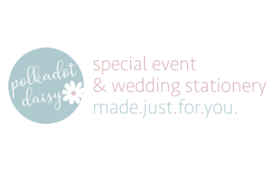 Polkadot Daisy Wedding Stationery